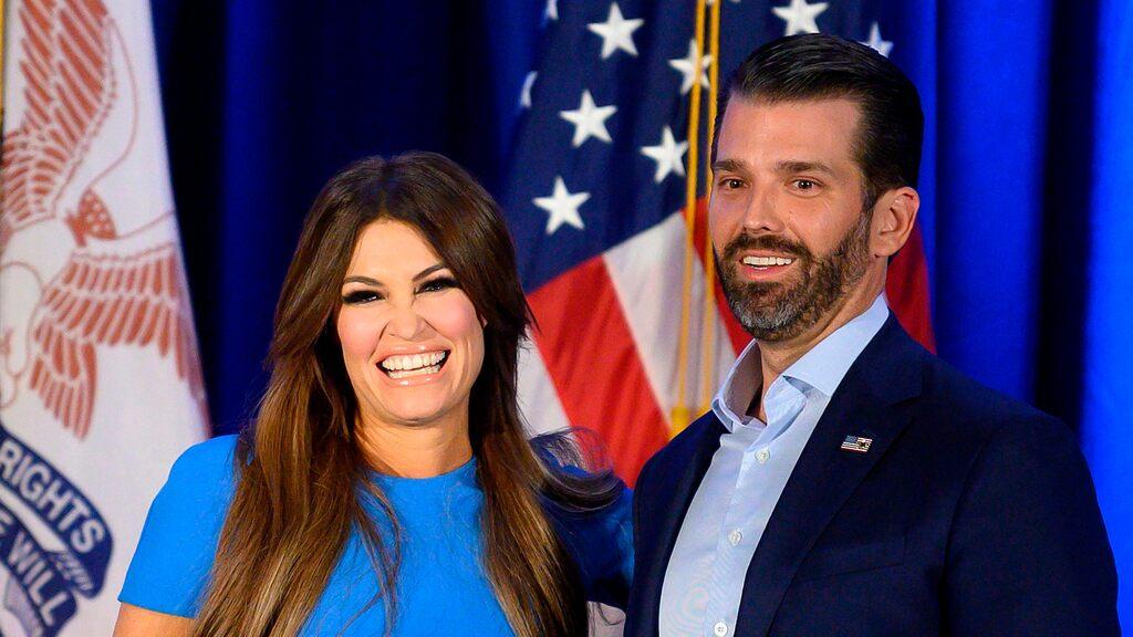 Trump Jr S Flickvan Smittad Med Nya Coronaviruset Kimberly Guilfoyle Shotoe